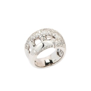 18K White Gold 1.09 ct. Diamond Ring