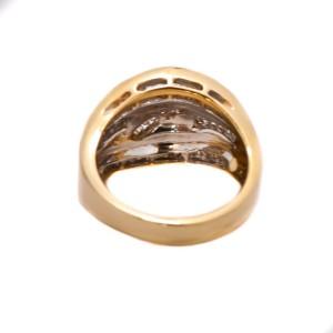 14K Yellow Gold 1.0ct Baguette Diamond Ring