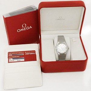Omega Constellation 123.10.38.21.02.001 Stainless Steel Mens Watch