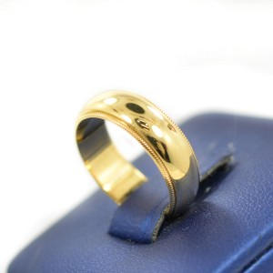 Tiffany & Co 18K Yellow Gold Ring Size 5