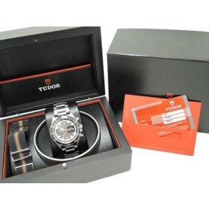 Tudor Heritage 70330N Chrono Grey Dial Stainless Steel Automatic Mens Watch