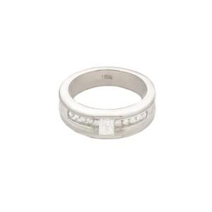 White White Gold Ring Size 7
