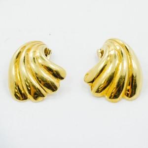 Yellow Gold Womens Earrings
