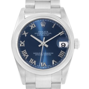 Rolex Datejust 78240 31mm Womens Watch