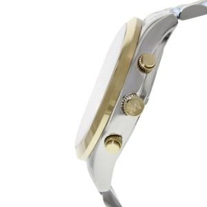 Michael Kors MK8306 Chronograph Bookton White Dial Two-tone Men's Watch