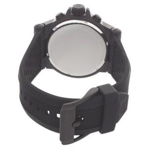Michael Kors MK8383 Dylan Black Dial Black Silicone Strap Men's Watch