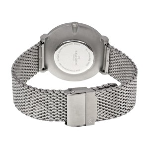 Skagen SKW6175 Hald Black Dial Stainless Steel Men's Watch