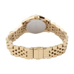 Michael Kors MK3229 Silver Dial Gold-Tone Stainless Steel Ladies Watch