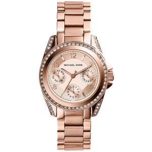 Michael Kors MK5613 Rose Gold Stainless Steel 33mm Womens Watch
