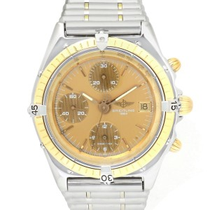 Breitling Chronomat B13047 18K Yellow Gold/Stainless Steel Automatic 40mm Mens Watch