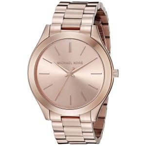Michael Kors Runway MK3197 Rose Gold Tone Dial Rose Gold Stainless Steel 42mm Womens Watch