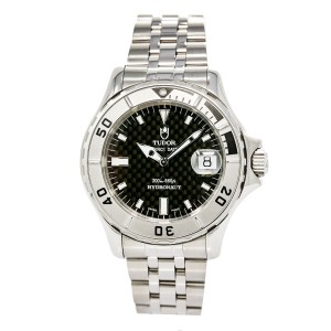 Tudor Prince Date Hydronaut 89190p Stainless Steel Automatic 41mm Mens Watch