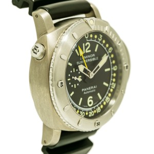 Panerai Regatta PAM193 Titanium / Rubber Automatic 47mm Mens Watch