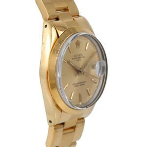 Rolex Date 15505 34mm Mens Watch