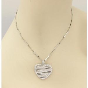 Roberto Coin Elefantino 18K White Gold Diamond Pendant
