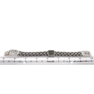 Effy Black Sterling Silver Diamond Bracelet