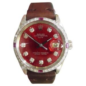 Rolex Datejust 1500 34mm Mens Watch