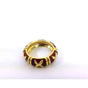 Hidalgo 18k 18K Yellow Gold Enamel Ring