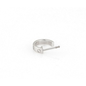 Cartier 18K White Gold Earrings