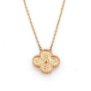 Van Cleef & Arpels 18K Rose Gold Pendant
