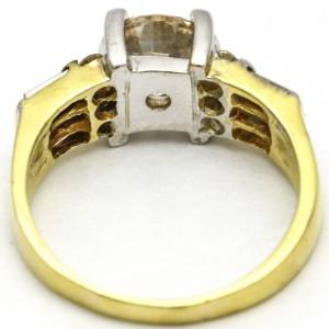 2.36 Carat 18 Karat Gold Diamond Engagement Ring