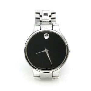 Movado Men's Stainless Steel Sapphire Crystal 38mm Quartz Watch