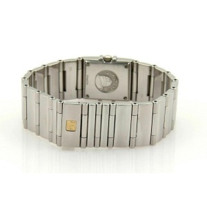 Omega Quadra Constellation MOP Diamond Dial & Bezel Stainless Steel-1528.76
