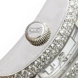 Chopard Ladies 18k White Gold Watch with Diamonds 433-1