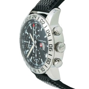 Chopard Mille Miglia GMT 8992 Mens Automatic Watch Black Dial Chronograph 42mm