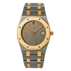 Audemars Piguet Royal Oak 56175TR Unisex Quartz Tantalum 18k Rose Gold 34mm