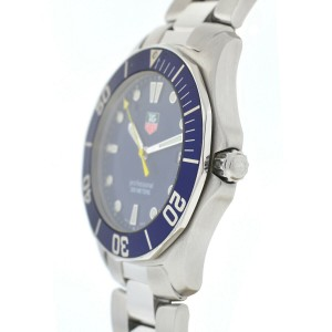 TAG Heuer WAB1112 Aquaracer Blue Dial Quartz Stainless Steel Men's Watch