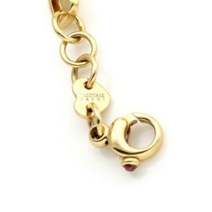 Pasquale Bruni 18k Yellow Gold PB Letter Charm Chain Bracelet