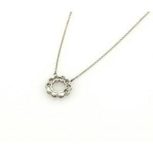 Tiffany & Co. Circle Jazz 0.52ct Diamond Platinum Pendant