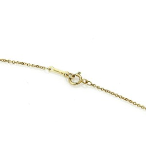 Tiffany & Co. Paloma Picasso Diamond X Kiss 18k Gold Pendant