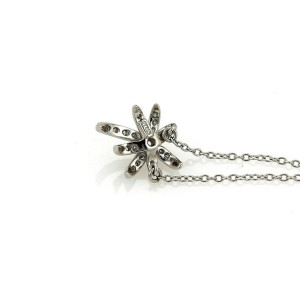 Tiffany & Co. Platinum Firecracker Diamond Fire Burst Pendant