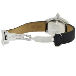 Cartier 2675 Roadster Pink Dial Stainless Steel Quartz Watch