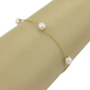 Tiffany & Co. Elsa Peretti Pearls By The Yard 18k Yellow Gold Bracelet