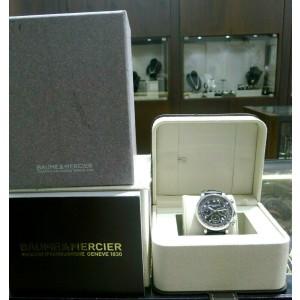 Baume & Mercier Capeland Chronograph Black Dial Automatic Steel 42mm Men's Watch