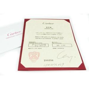Cartier Mini Love 18k White Gold Turquoise Color Cord Bracelet w/Certificate
