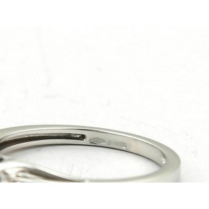 Bliss by Damiani KATE Solitaire Diamond 18k White Gold Ring
