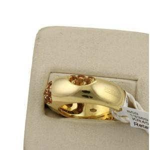 Koesia  0.92ct Citrine Gems 18k Yellow Gold Ring