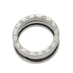 Authentic Bulgari Bvlgari B-Zero1 18K Gold 3 Bands Ring Size 51 -US 5.75 »U121