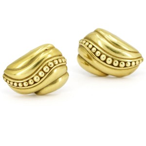 Vahe Naltchayan 18K Yellow Gold Clip-On Earrings
