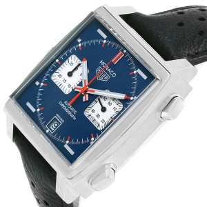 Tag Heuer Monaco CAW211P 39mm Mens Watch