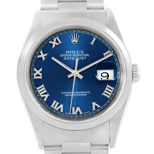 Rolex Datejust 16200 36mm Mens Watch