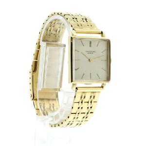 Vintage Universal Geneve 14K Yellow Gold Mechanical Square Men's Watch 57.3g