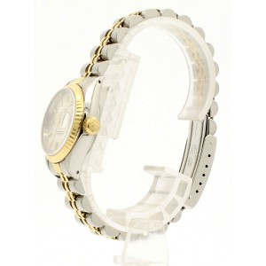 ROLEX Oyster Perpetual Lady-Datejust 26mm Watch in Gold and Steel