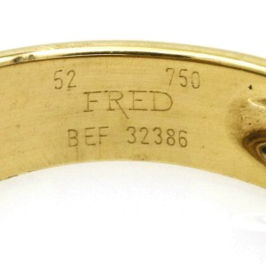 Fred of Paris Freeform Band Ring in 18k Yellow Gold