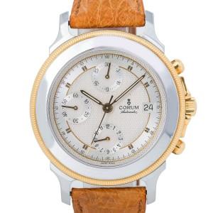 Corum Les Temps Mecanique 77.111.21 Brown Strap Gold Bezel with Box & Paper 40MM