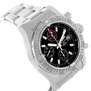 Breitling Aeromarine Super Avenger A13381 43mm Mens Watch
